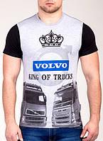 Мужская футболка с принтом Валимарк,модная С,M,L,XL цвета в асортименте, фото 1