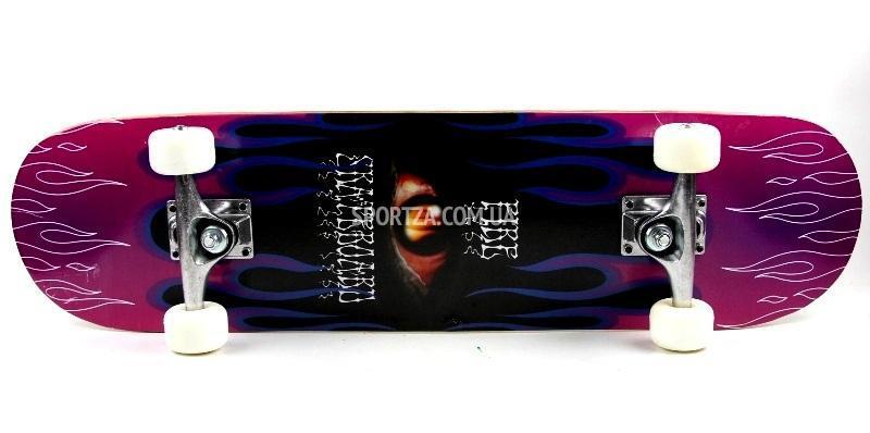 Самая дешевая цена в Украине на СкейтБорд деревянный , Скейт Оригинал Клен  Violet Style, купить 7cbcce3226e