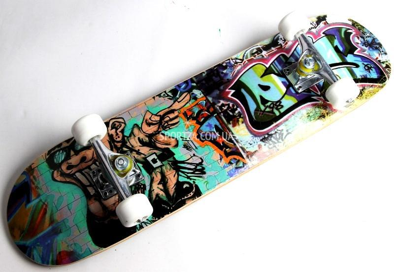 Скейтборд, Скейт Канадский Клен Graffiti Boy , фото 1