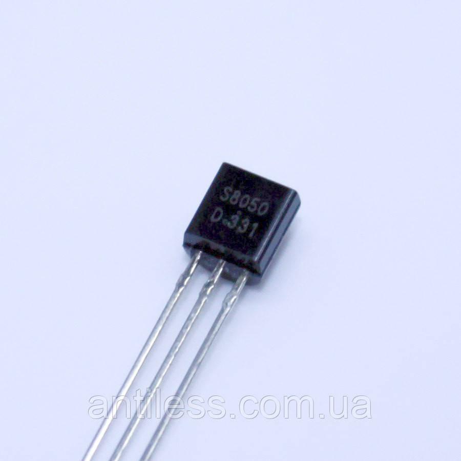 ТРАНЗИСТОР БИПОЛЯРНЫЙ NPN SS8050 S8050 8050 TO-92