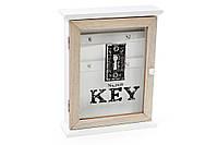 Ключница деревянная (4 крючка) BonaDi 443-534 РАСПРОДАЖА!