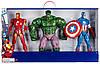 """Супер большой набор из трех фигурок Супергероев """"Мстители Марвел"""" от Disney"""