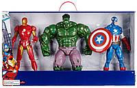 """Супер великий набір з трьох фігурок Супергероїв """"Месники Марвел"""" від Disney, фото 1"""