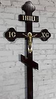 Крест лакированный ИНЦИ (овал)