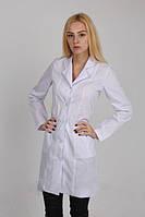 Медицинский халат с длинным рукавом (23-1)