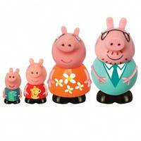 Набор игрушек-брызгунчиков Peppa – СЕМЬЯ ПЕППЫ (4 фигурки)