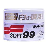 Твердый воск для светлых и белых  авто Soft 99