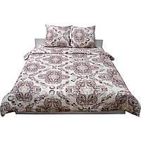 Комплект постельного белья Сатин 143x215 см  Руно (1.137К_40-0485 Beige Brown)