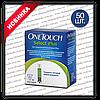 Тест-полоски Ван Тач Селект Плюс (One Touch Select Plus), 50 шт.