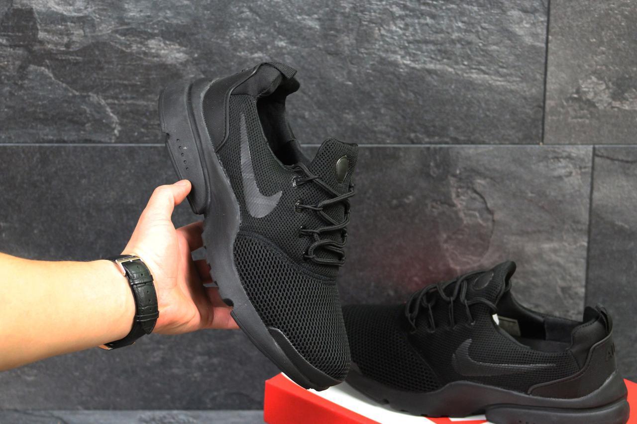 Мужские кроссовки Nike Air Presto Fly Uncaged полностью черные ( Реплика  ААА+) - bonny da418b9484e
