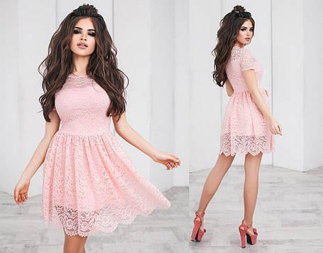 Т2104 Гипюровое платье, фото 2