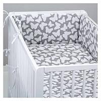Комплект в кроватку Хатка Бабочки