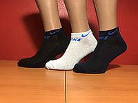 Носки мужские хлопок спортивные сетка Nike размер 41-45 ассорти, фото 1