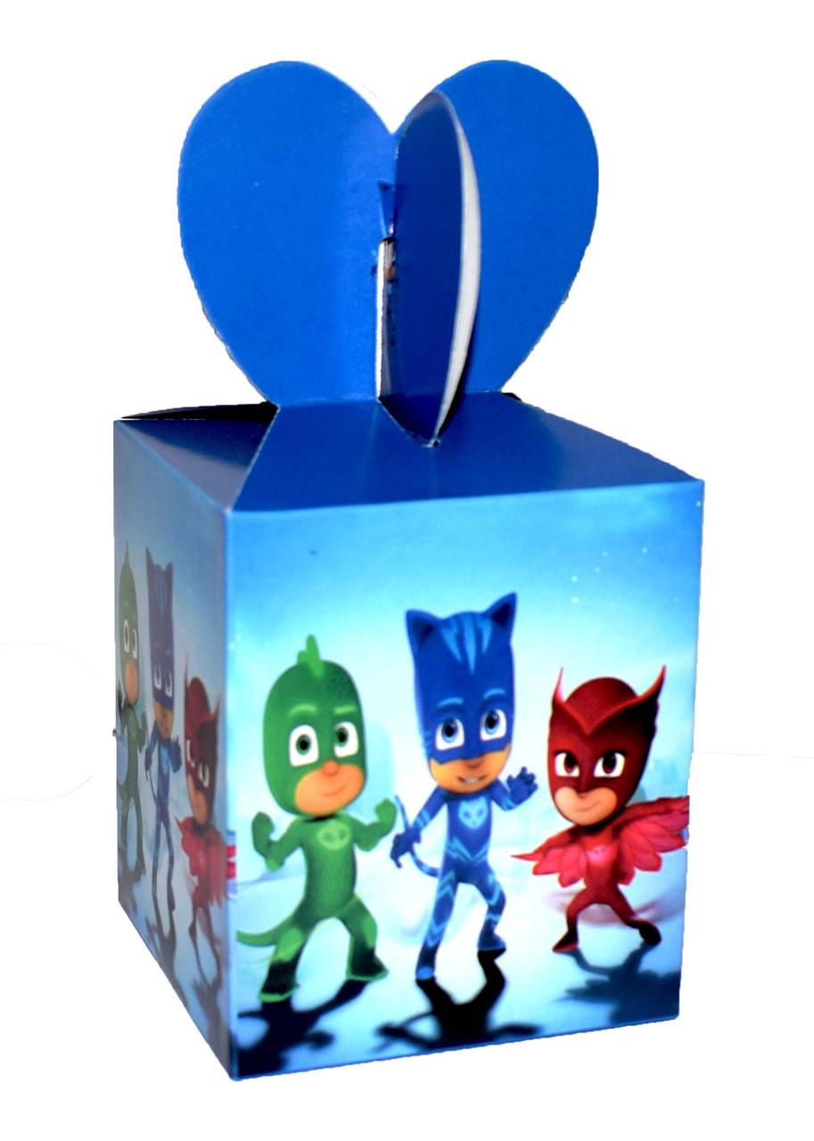 Подарочная коробочка Герои в масках
