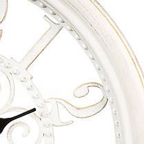 Часы настенные пластик 35,5 см (069A/white), фото 2