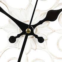 Часы настенные пластик 35,5 см (069A/white), фото 3