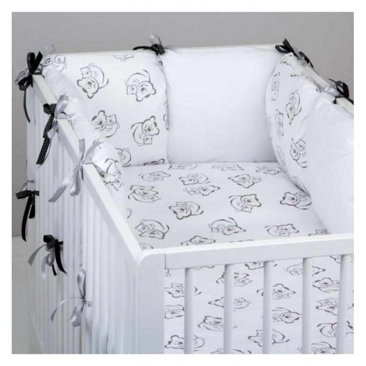 Комплект в кроватку Хатка Мишки