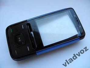 Корпус для Nokia 5610 синий с кнопкам class AAA, фото 2