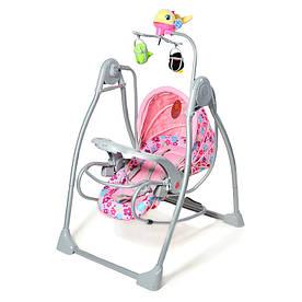 Детское кресло-качалка Baby Tilly BT-SC-0003 Pink