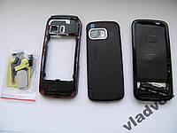Корпус для Nokia 5800 красный AAA