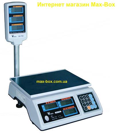 Торговые весы Digi DS 700 P 30 кг)