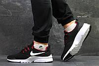 Кроссовки Nike Air Presto Fly, черно-белые, мужские  (Реплика)