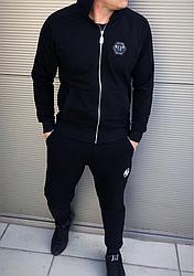 Черный мужской спортивный костюм Philipp Plein