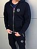 Черный мужской спортивный костюм Philipp Plein, фото 3