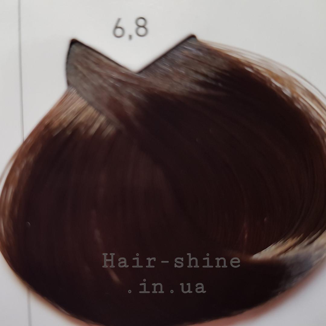 Крем-краска для красоты волос 50 мл-L'Oreal Professionnel Majirel 6.8 темный блондин мокко