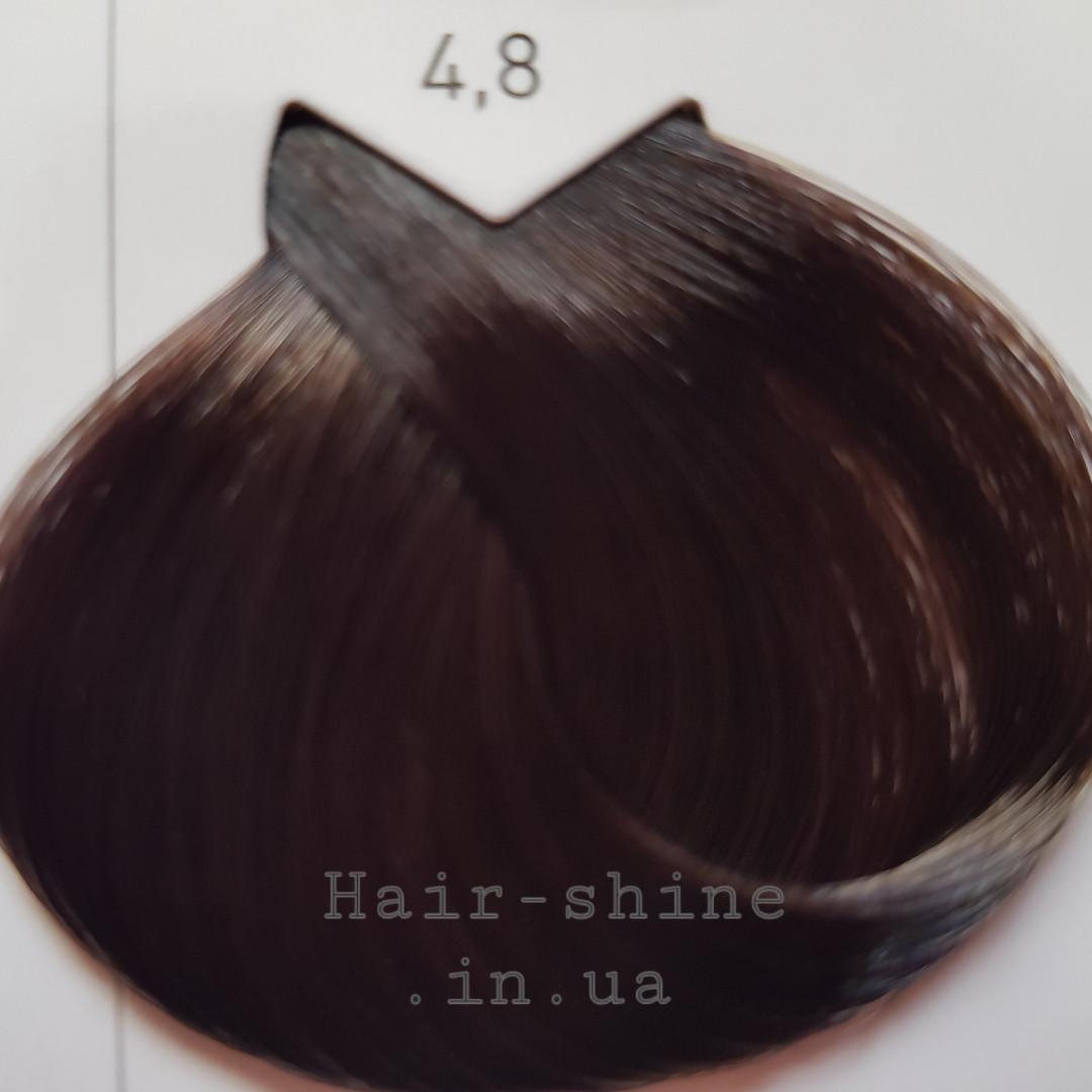 Крем-краска для красоты волос 50 мл-L'Oreal Professionnel Majirel 4.8 Шатен мокка