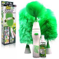 Щетка от пыли Go Duster, Щетка электрическая Go Duster, Щетка для уборки пыли, Щетка для удаления пыли