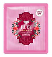 Гидрогелевая маска с розой и пудрой рубина Koelf Hydrogel Mask Pack Ruby & Bulgarian Rose - 30 мл