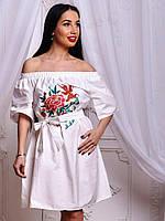 118af67e9991 Котоновое белое платье в Украине. Сравнить цены, купить ...