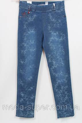 Стильные турецкие джинсы с эффектом мерцания, рр 48-54, фото 2