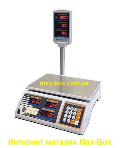 Весы для торговли DiGi DS 700 EP 6кг