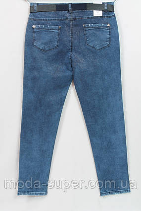 Стильные турецкие джинсы с напылением, рр 48-54, фото 2