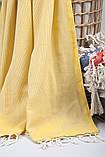 Полотенце-пештемаль пляжное Tan 100х175 желтый Barine, фото 2