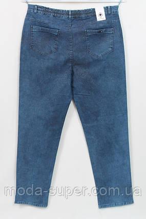 Турецкие джинсы с эффектом мерцания,большие размеры 56-62, фото 2