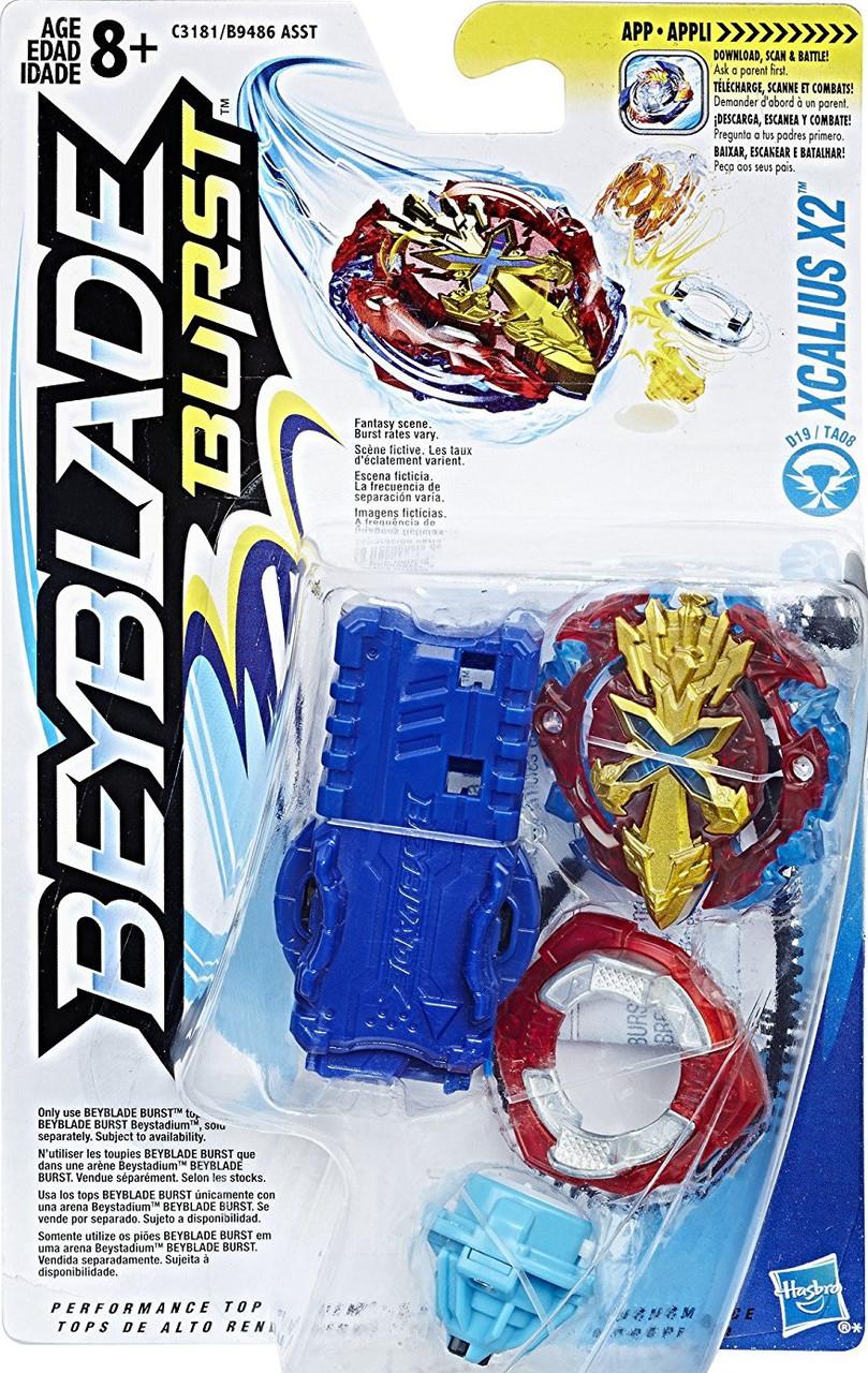 HASBRO Бейблэйд волчок Экскалиус Х2, Beyblade Burst Starter Pack Xcalius X2, Оригинал из США