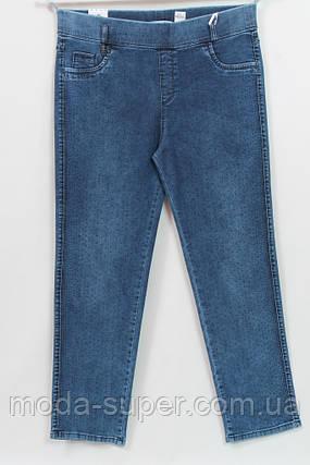 Турецкие джинсы с  мелкими стразами, рр 48-62, фото 2