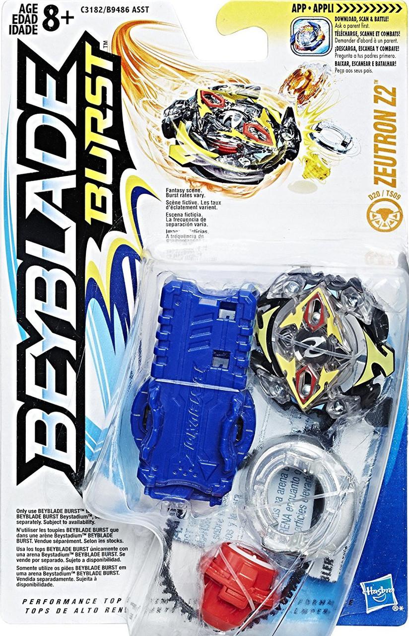 HASBRO Бейблейд волчок Зейтрон 2 с запускателем, Beyblade Burst Starter Pack Zeutron Z2, Оригинал из США