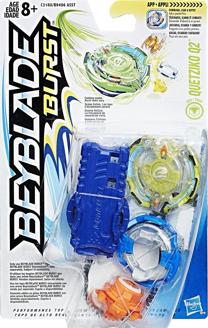HASBRO Бейблейд волчок Кветзико 2, Beyblade Burst Starter Pack Quetziko Q2, Оригинал из США