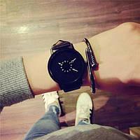 Наручные часы для пар, Черный, Унисекс