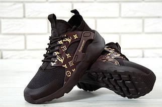 Женские кроссовки Nike Air Huarache x Louis Vuitton x Supreme, фото 3