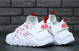 Женские кроссовки Nike Air Huarache x Louis Vuitton x Supreme, фото 2
