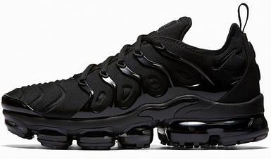 "Мужские и женские кроссовки Nike Air VaporMax Plus ""Triple Black"""