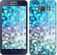 "Чехол на Samsung Galaxy A3 A300H Переливающаяся чешуя ""227c-72-328"""