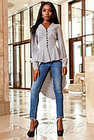 Рубашка-туника Гарсия серый