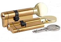 Циліндр KALE 164 ASM з сигналом тривоги (40+10+40:90mm) , латунь, 5 ключів, з вертушком, фото 1