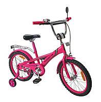 """Детский Велосипед 2-х колесный 16"""", цвет розовый, 171630"""